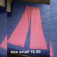 women's pink and white pants Warren
