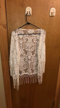 White lace cover up Greeley, 80631