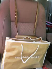 brown leather Michael Kors tote bag Conway, 29527