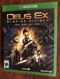 "Deus Ex ""Mankind Divided"" for XBox One"