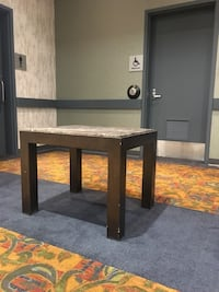 I have five marble side tables very heavy solid wood Abbotsford, V2T