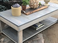 Handmade barn wood coffee table and sideboard Centreville, 20120