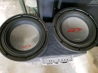 "2- 10"" alpine subs asking $160 both Bakersfield, 93307"