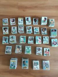 Collectable Football Cards / 40 yrs Old