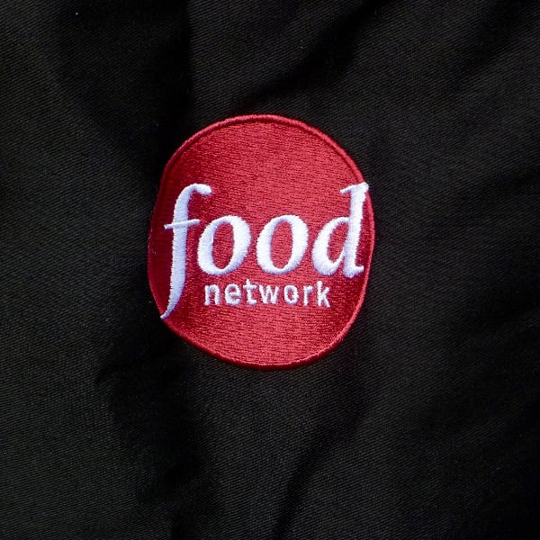 Smart & Dashing Food Network TV Black APRON 97254e43-001f-4071-be28-983eec7db404