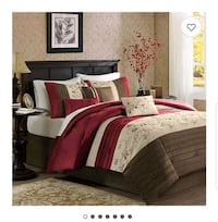 BRAND NEW 7PC King Bedset