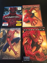 4 assorted Spider-Man DVD's  Woodbridge, 22193