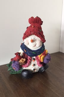 Snowman Christmas decor
