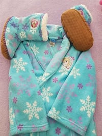 New kids M (6-8) Robe and Slippers Dyer, 46311