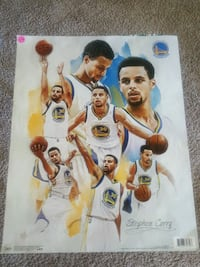 Stephen Curry poster Milpitas, 95035