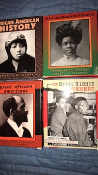 4  New Knowledge Cards-African American History, African American Women,  Great African Americans, & Civil Rights Movement Columbia, 21045