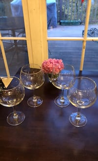 4 Wine Goblets/Glasses Annandale, 22003