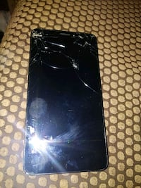 cracked black Samsung Galaxy android smartphone Decatur, 62526