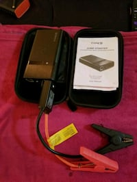 Type S portable charger and jumper cables Mississauga, L4Y 4E2