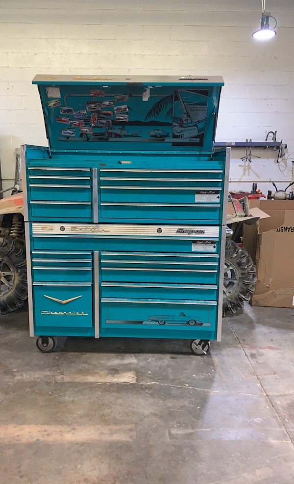 Snap On Tool Box Bel Air Addition Matco Tool Full Drawer Cart