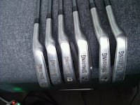 Set of right handed Spalding irons. Toronto, M4G 2G6