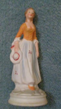 Beautiful Rare Antique Vintage French Lady!