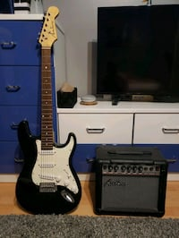 Academy electric guitar + amp Kitchener, N2E 3E6