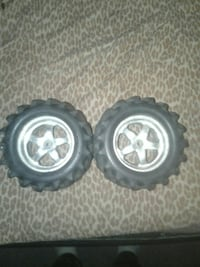 2 rc truck tires