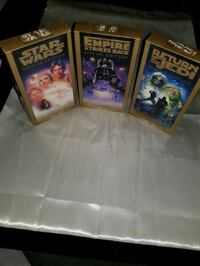 Star wars VHS tapes Dearborn