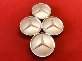 Mercedes Benz rim center caps.