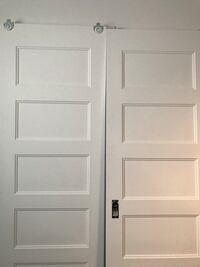 4 Sliding doors with hardware 200.00 for all 4 Montréal, H8P 1A8