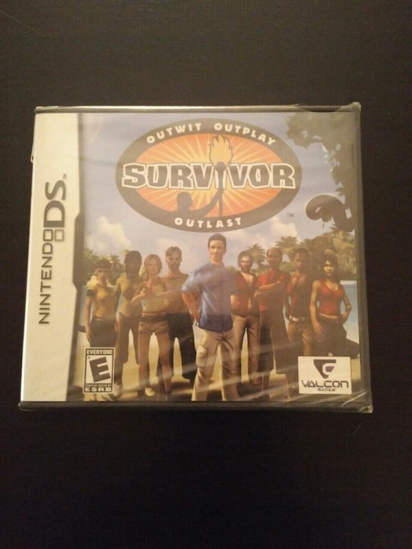 Nintendo DS Survivor (brand new sealed) 63950781-d810-40d8-8fd0-fcb55bcc8643