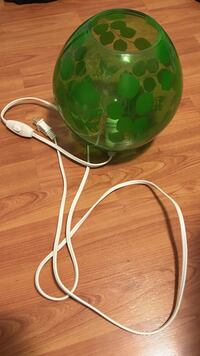green floral corded lamp Airdrie, T4B 2S8