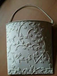 gray and white floral leather handbag Downers Grove, 60516