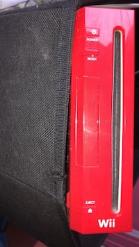 Red nintendo wii console with controller Halifax, B3P 2M6