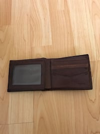 Fossil Authentic leather bi-fold wallet Burnaby