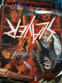 Slayer poster Lakeport, 95453