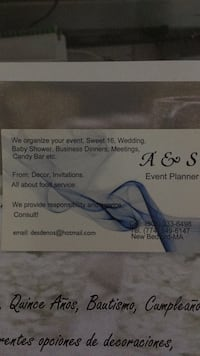 Event planner New Bedford