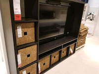 Ikea lappland tv unit with 2 door inserts. Brampton, L7A 0A8