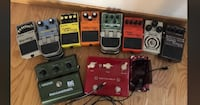 Guitar Pedals- prices listed OBO Sherwood Park, T8H 2N9