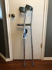 Forearm crutches and walker Moore, 73160