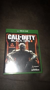 Call of Duty Black Ops 3 Xbox One game case Calgary, T2W 5E7