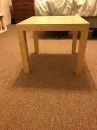 Two matching side tables