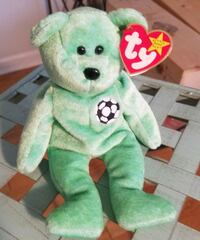 green TY Beanie Baby bear plush toy and others... Falls Church, 22042