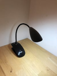Rechargeable LED clip-on light