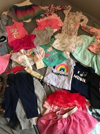 Baby Girl Clothes $25 Whole Bag!