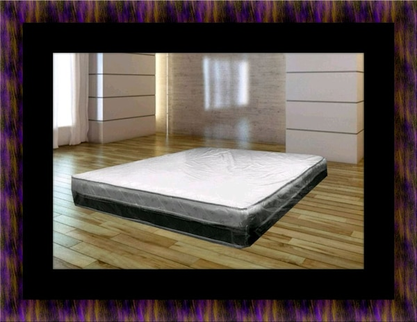 Singlesided pillowtop mattress with box spring