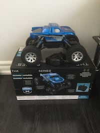 Black and blue rc car Pickering, L1V 2S9