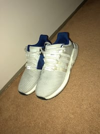 Pair of white-and-blue adidas sneakers Ottawa, K2L 2W2
