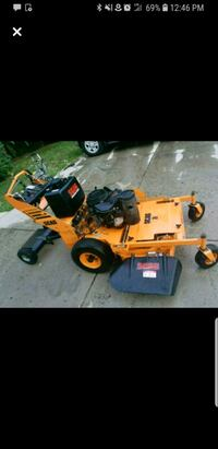 orange and black ride on lawn mower Alexandria, 22306