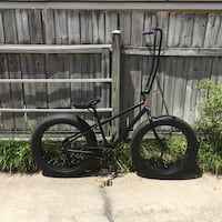 Custom cruiser with fat tires and ape hanger handle bars. Fun to ride! $250 OBO. Baton Rouge, 70815