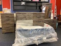 New Glennridge 5 Piece Queen/Full Bedroom Set
