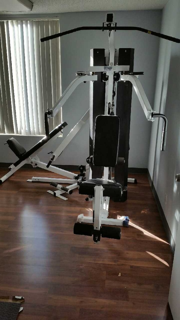 Used parabody serioussteel home gym for sale in san