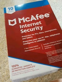 McAfee internet security box Toronto, M6G