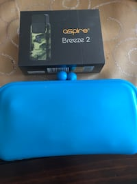 Blue silicone carrying case Halifax, B3R 2M2